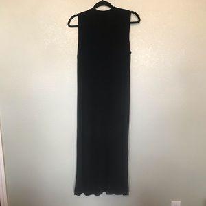 Chico's Dresses - Chico's Traveler's Button Up Maxi Jumper Sz 8-10